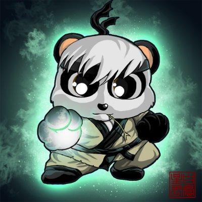 q版熊猫 q版人物 q版动漫怪盗基德