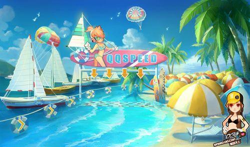 激爽暑期开启 QQ飞车 新版本呈现创意海底赛道图片