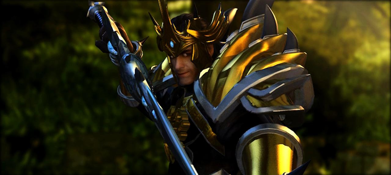 英雄联盟的动画片-lol德玛西亚皇子