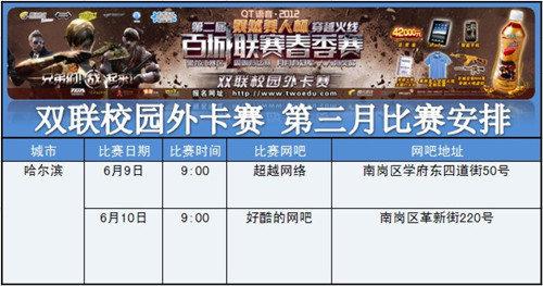 黑龙江 百城双联校园外卡赛第三月cf赛事报道 52PK穿越火线专区