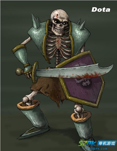 dota2骷髅王不见了_DOTA最丑英雄评选 这些英雄长得太有个性了_52PK单机游戏