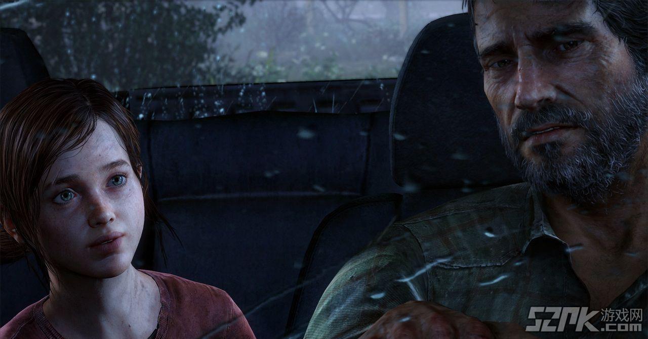 《美国末日》实战视频 大叔亲手教萝莉打枪