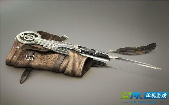 《刺客信条3》康纳最新武器展示 特典欣赏