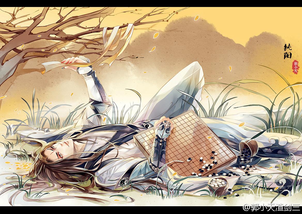 唯美 盘点/玩家书写唯美江湖剑网3春季手绘插画盘点