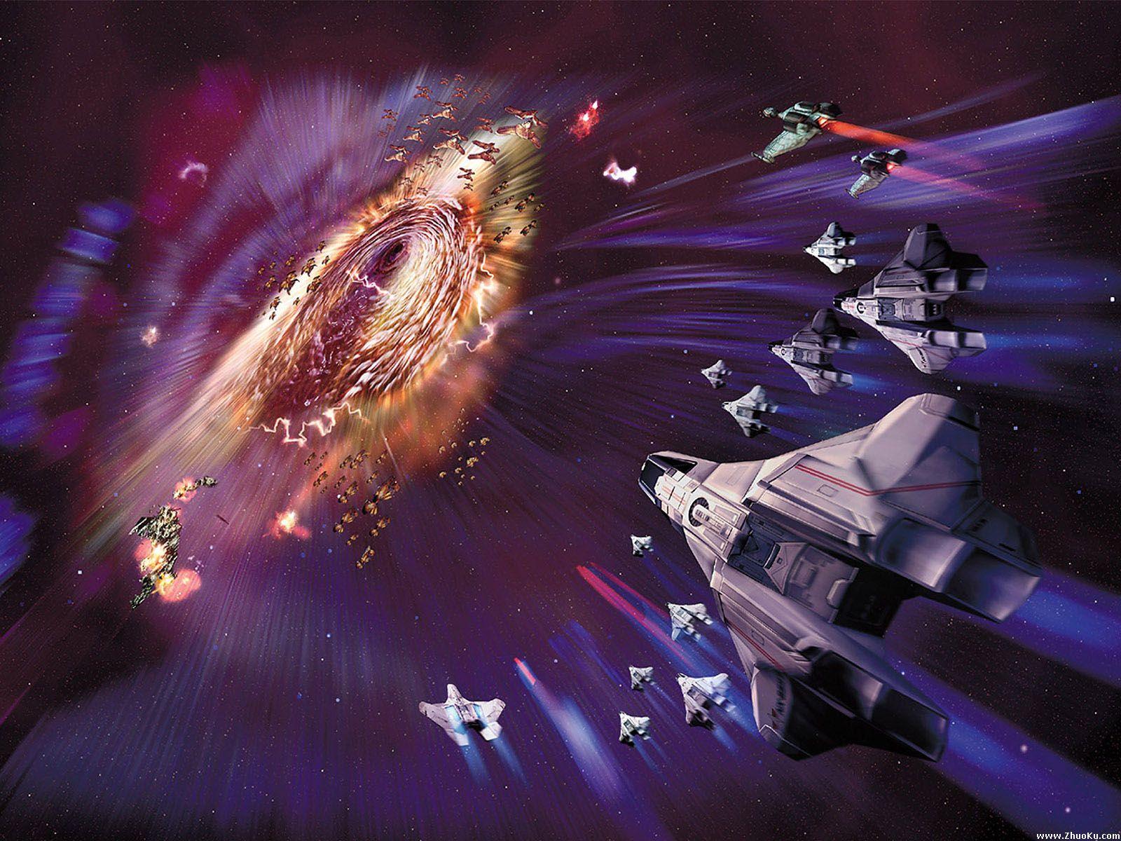 科幻射击游戏大作 星际迷航游戏壁纸