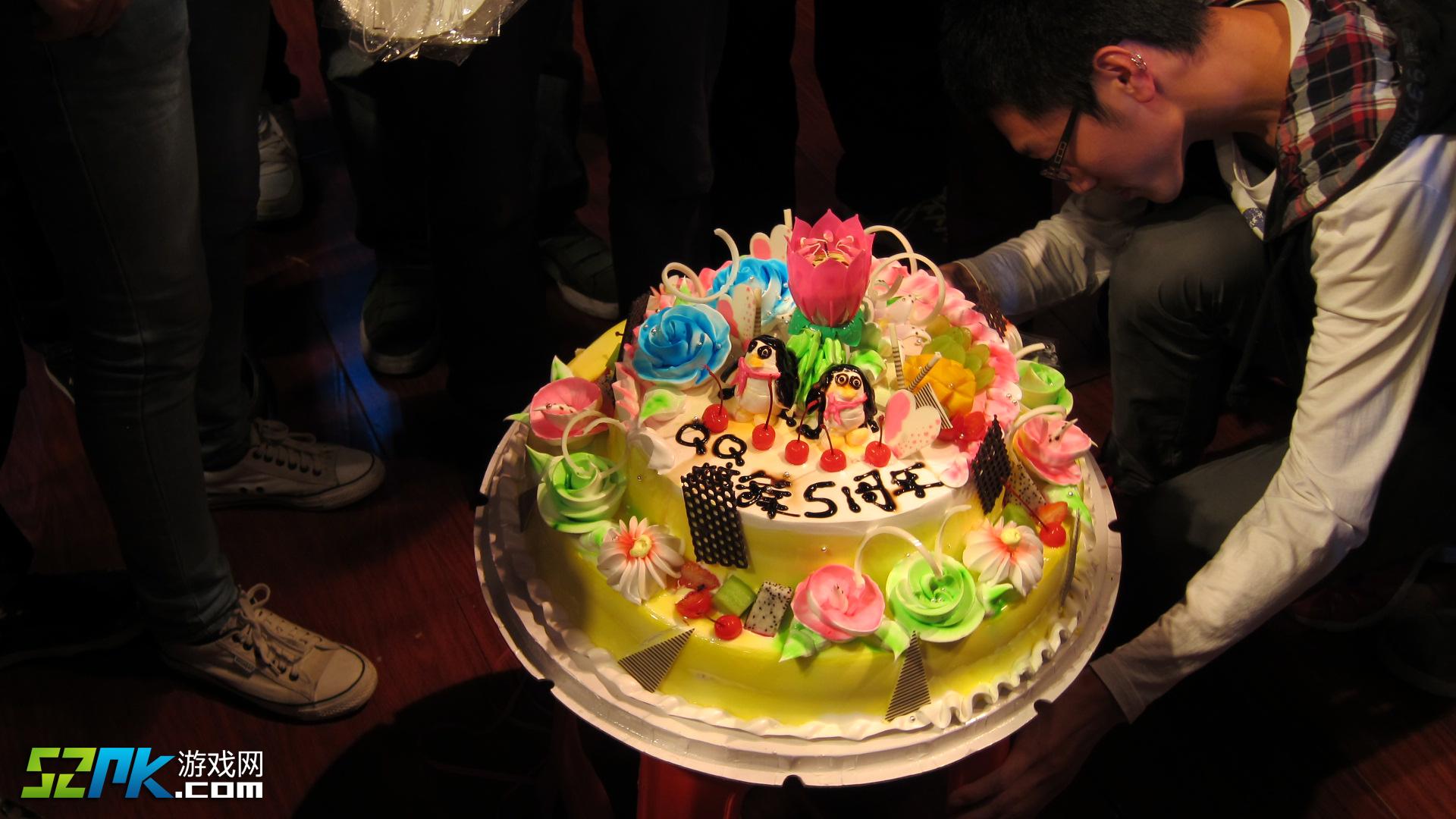 qq 炫舞/QQ炫舞五周年蛋糕