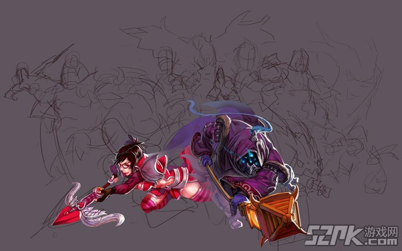 英雄联盟暗夜猎手壁纸内容英雄联盟暗夜猎手壁纸
