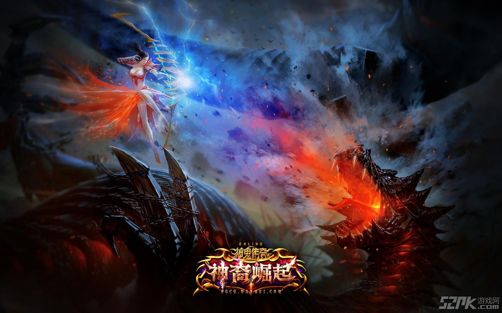 神鬼传奇神裔崛起 首部游戏电影震撼首发
