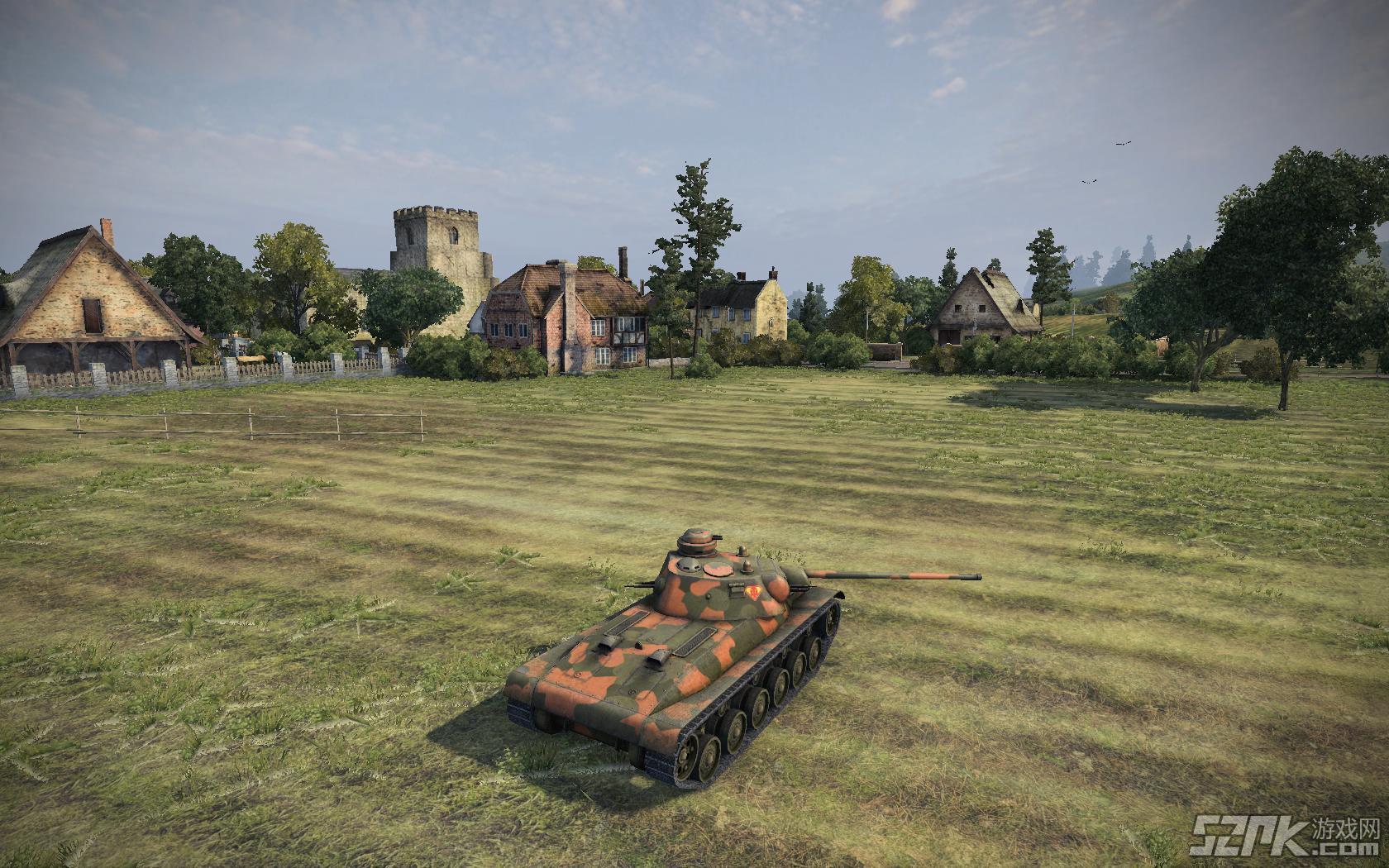 新坦克截图欣赏之S系坦克A-43