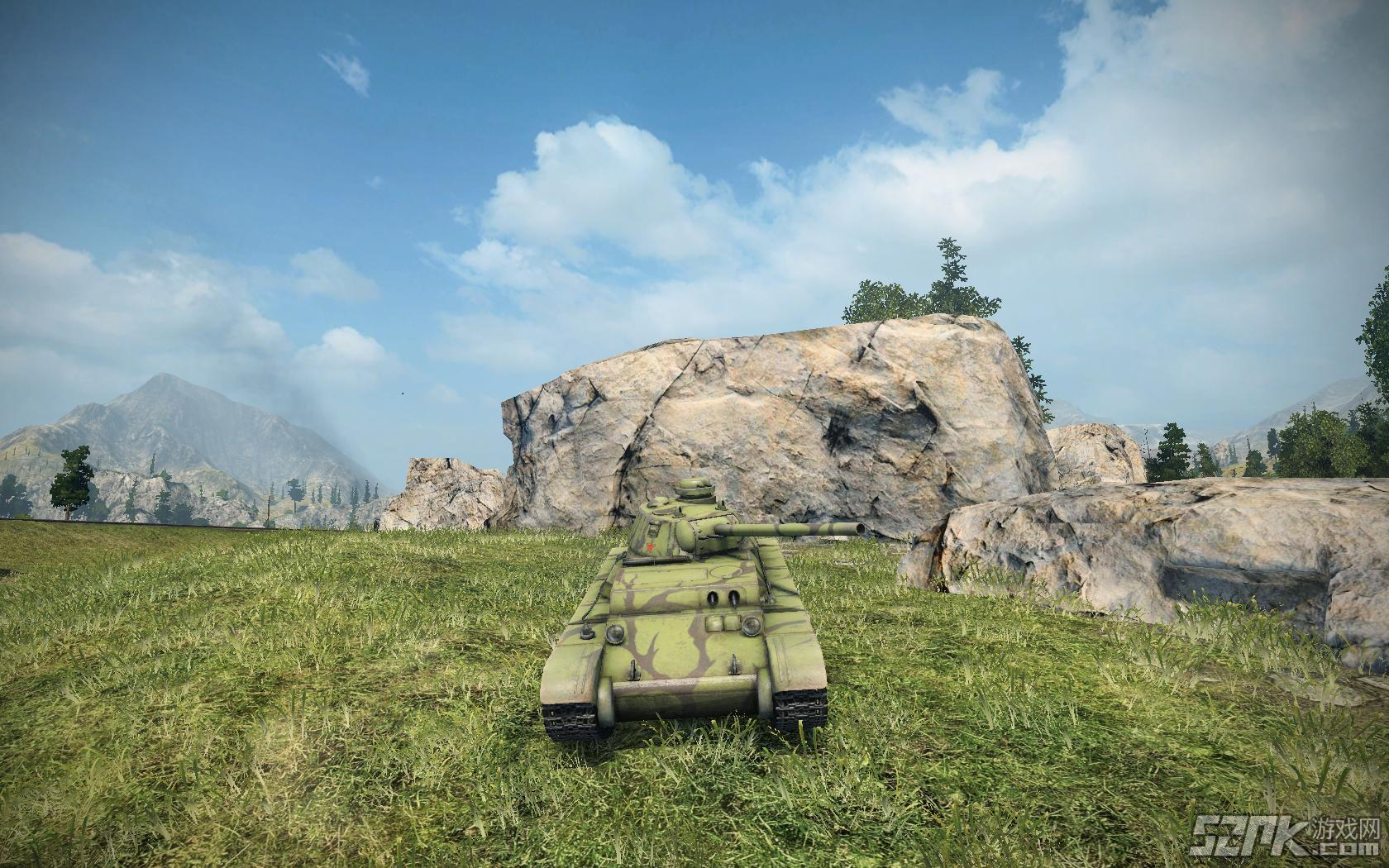 新坦克截�D欣�p之S系坦克A-44