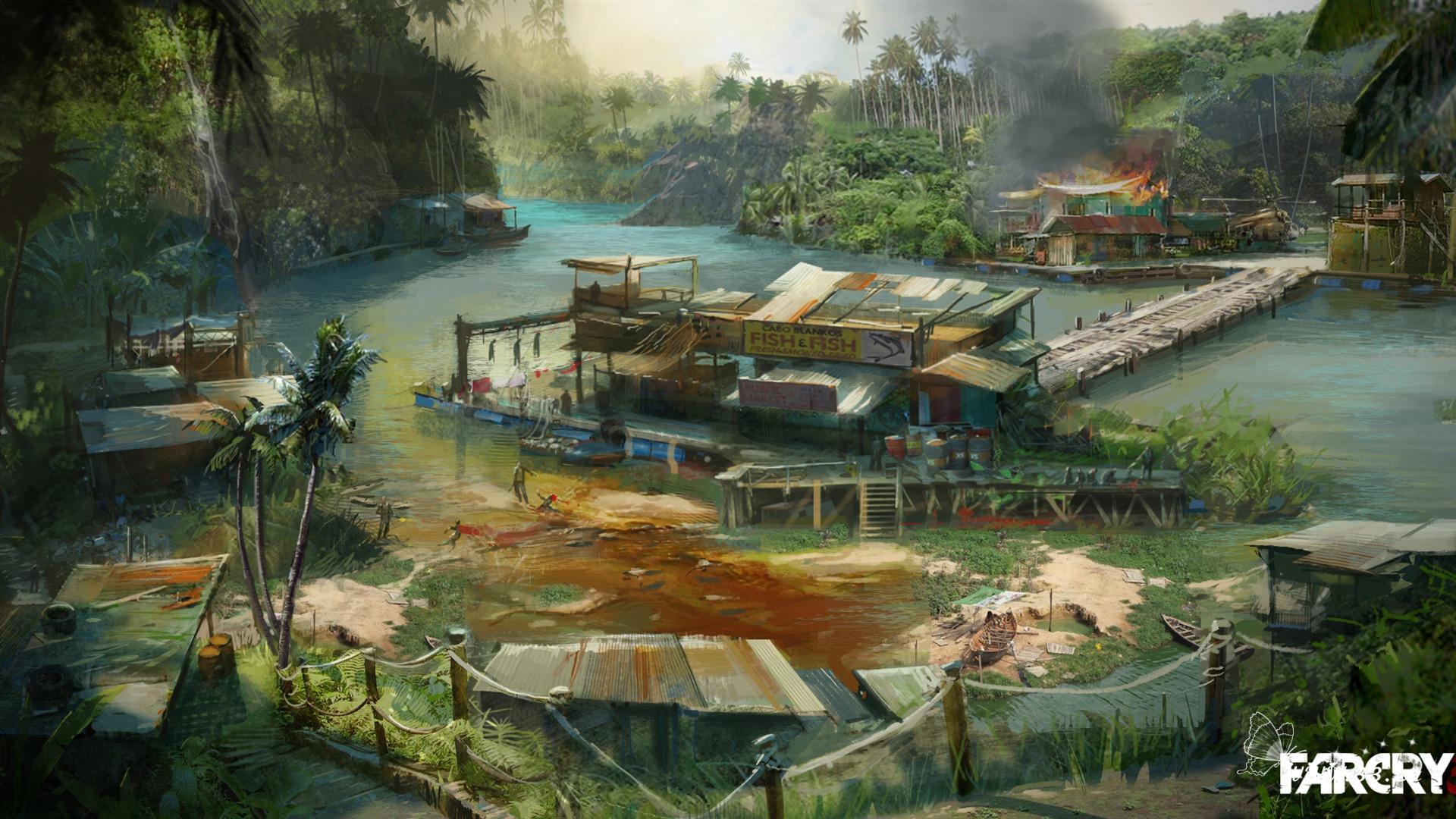 壁纸 游戏壁纸/孤岛惊魂4游戏壁纸1
