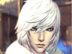 剑灵人族男极品银发帅哥捏脸数据