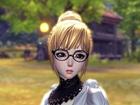 剑灵天族女捏脸数据 傲娇眼镜娘