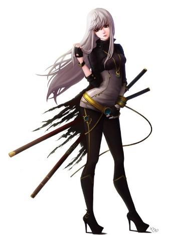 dnf女鬼剑邪恶图片欣赏 爱战斗同样也爱美