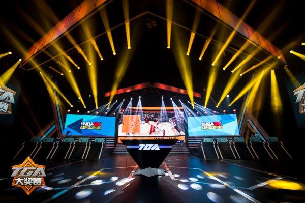 2014腾讯TGA夏季NBA2K Online S3精彩截图