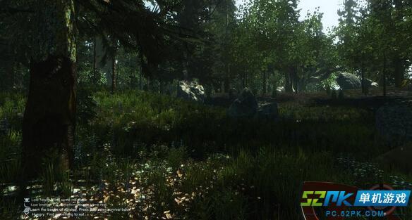 森林单机游戏_恐怖游戏森林的基本操作按键全面解析_52PK