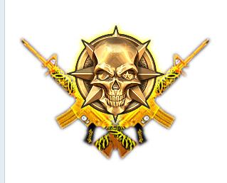 CF杀敌图标下载 黄金武器击杀图标