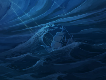 乘风破浪 AGE玩家手绘游戏相关图鉴大展示