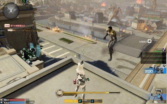 枪神纪巨人模式游戏截图 巨人来袭