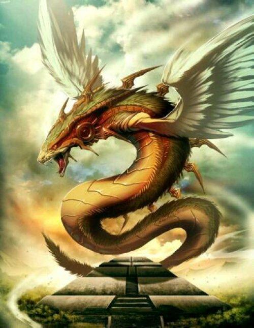羽蛇神的真实照片_羽蛇神红龙
