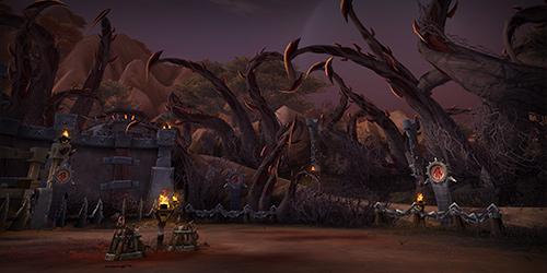 魔兽世界6.0德拉诺之王地图预览阿兰卡峰林