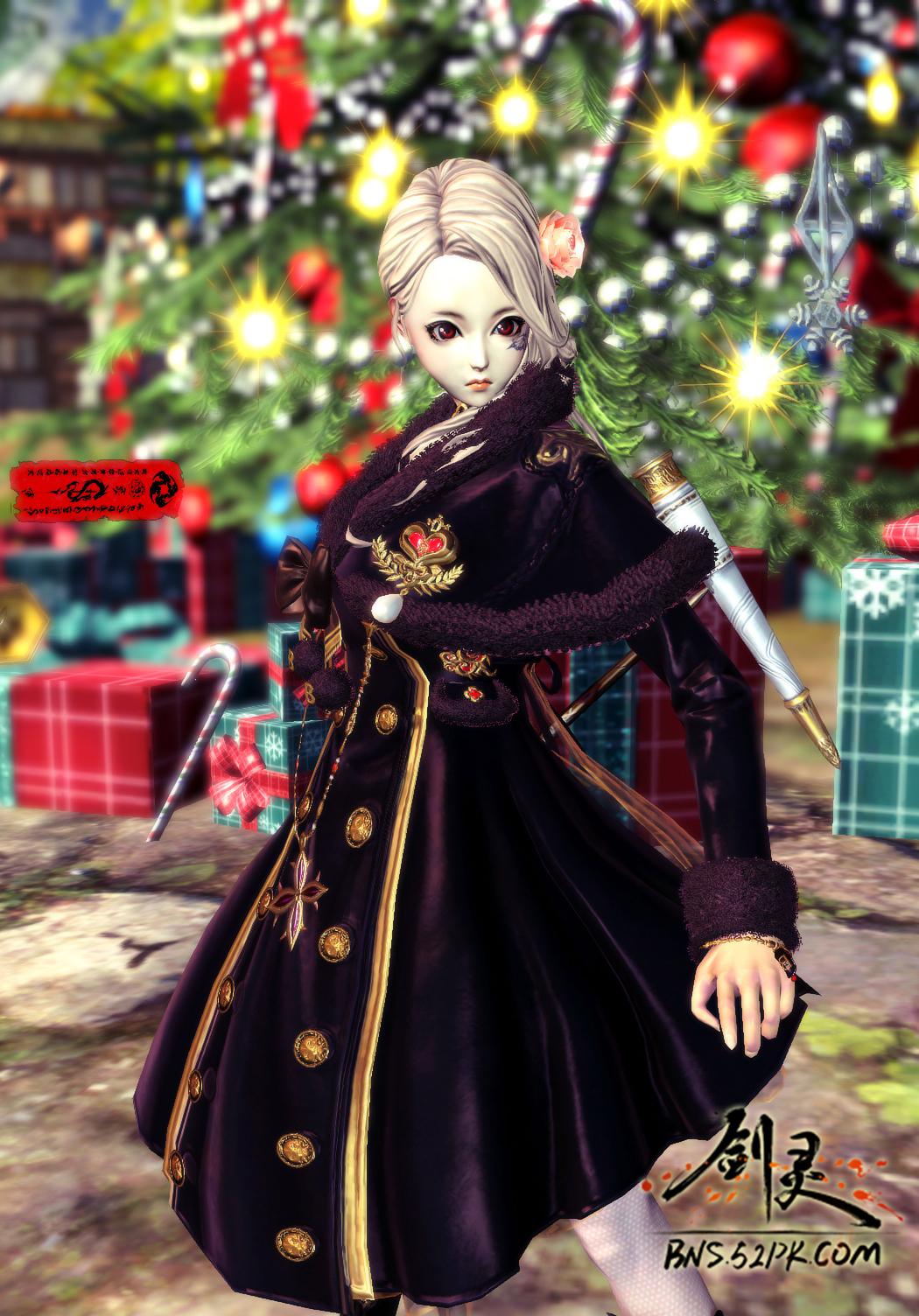 冬日新时装咒术师登场 玩转圣诞服装秀