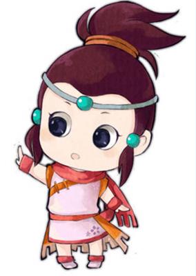 梦幻西游各角色萌萌的Q版团子手绘秀 游戏图片