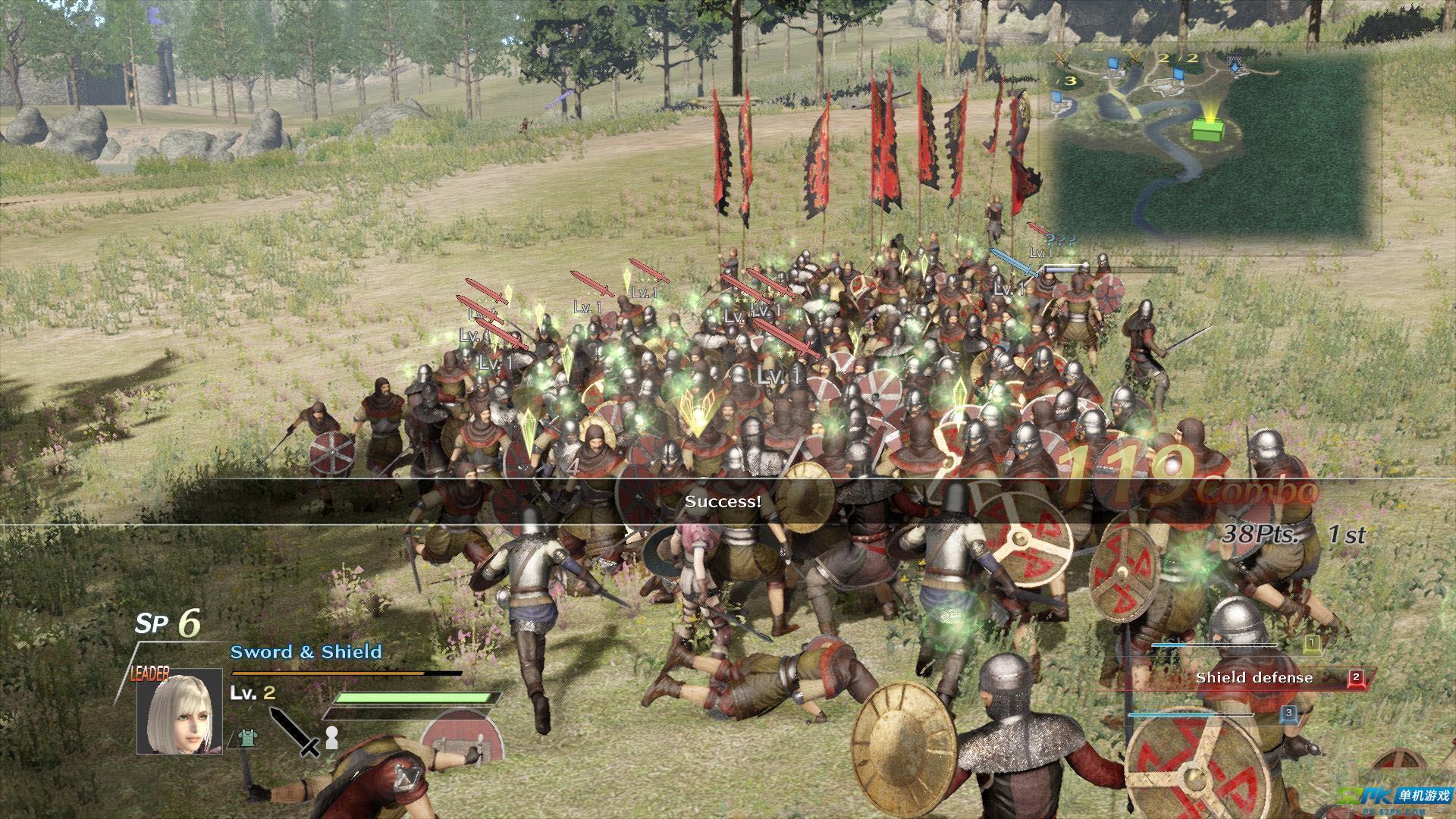 剑刃风暴百年战争噩梦游戏评测 不容错过的好作品
