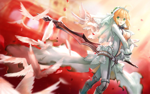 尼禄--婚纱