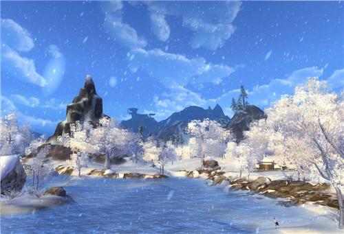 领略四季之美 剑网三景色塑造之冬季篇_52pk剑网3玩家交流