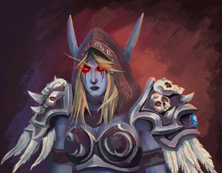 魔兽玩家希尔瓦娜斯