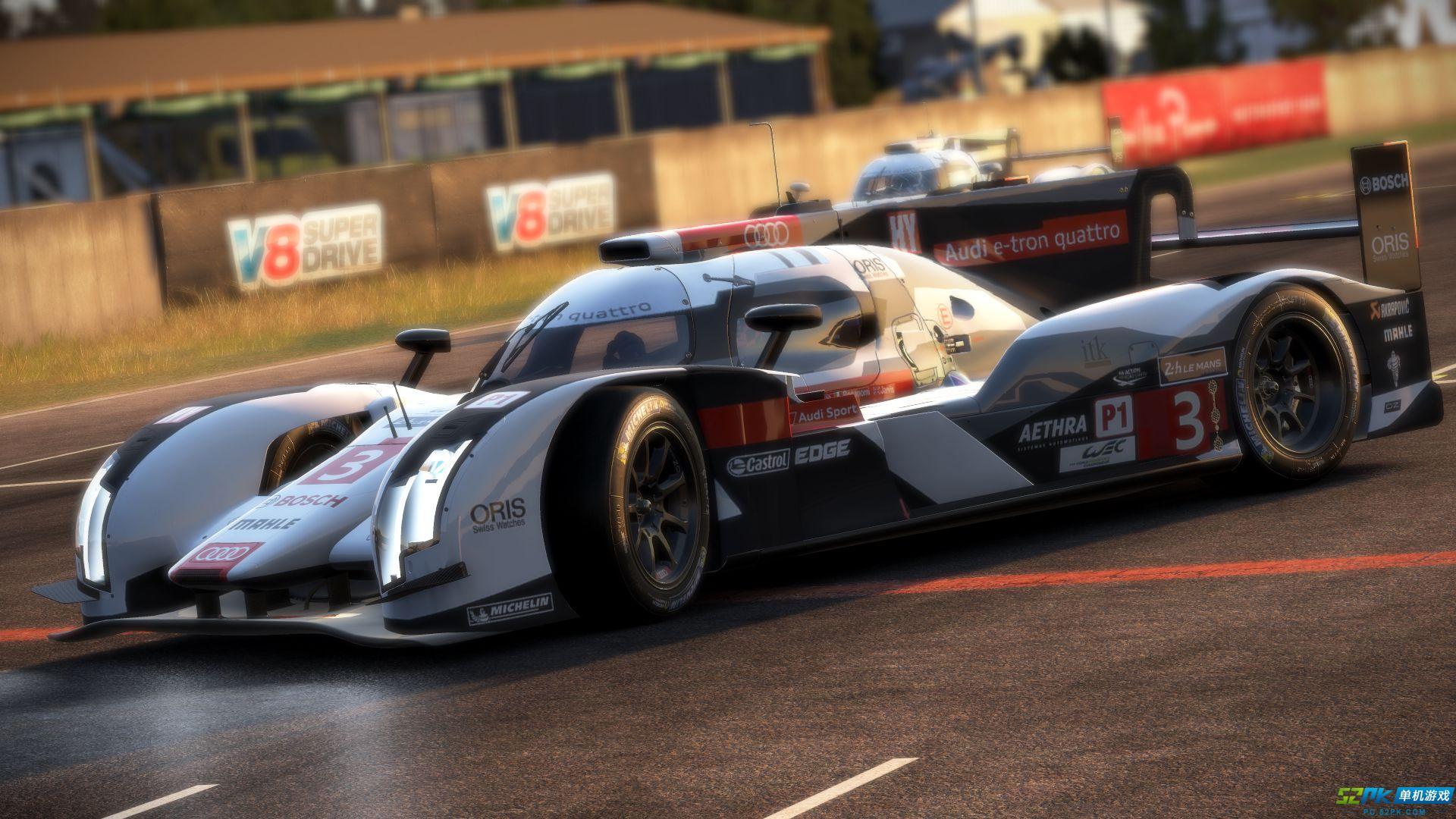 赛车计划加入全新赛道DLC 经典奥迪赛车炫酷登场