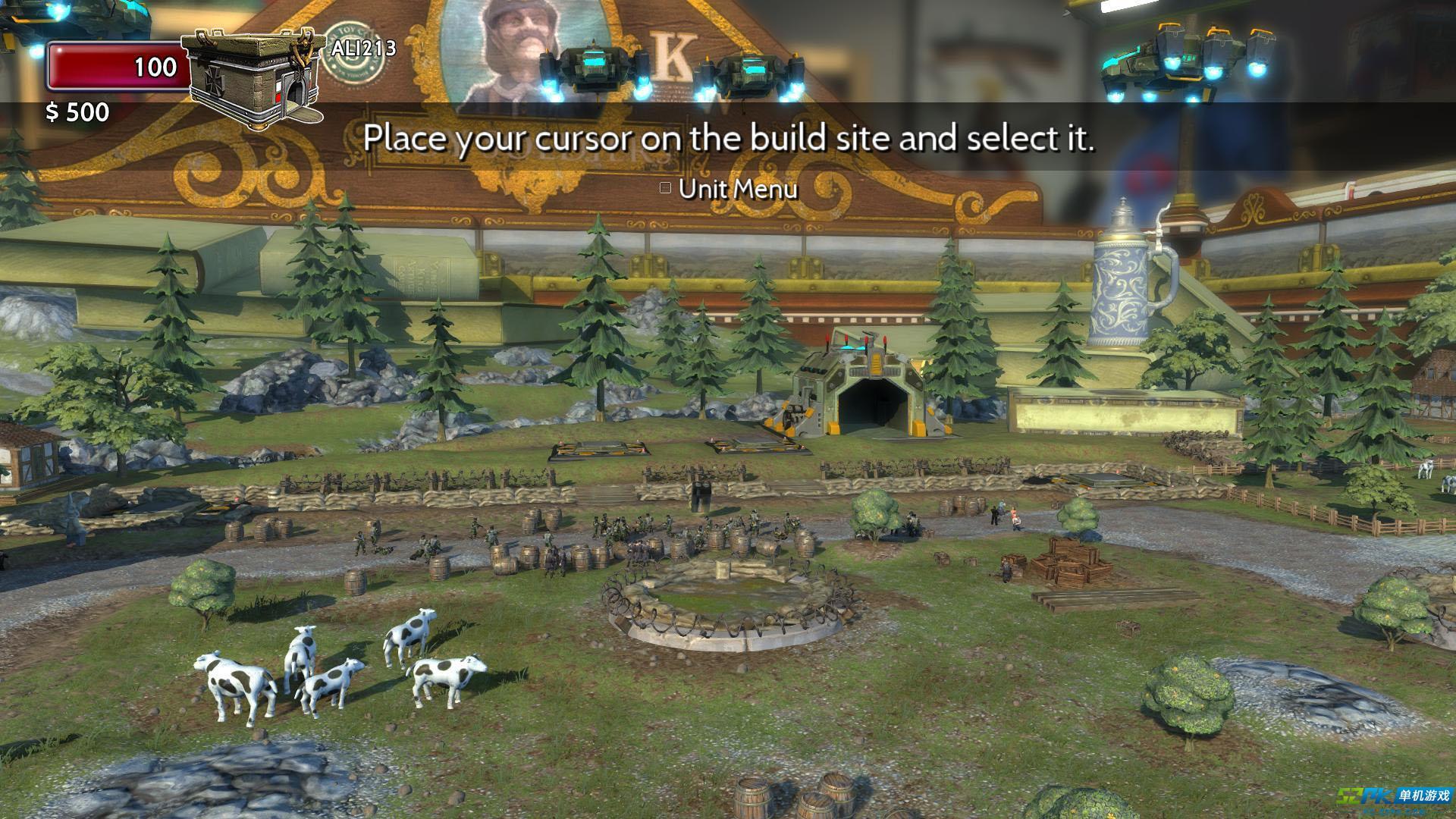 玩具士兵战争宝箱游戏测评 优秀的炮火战斗效果