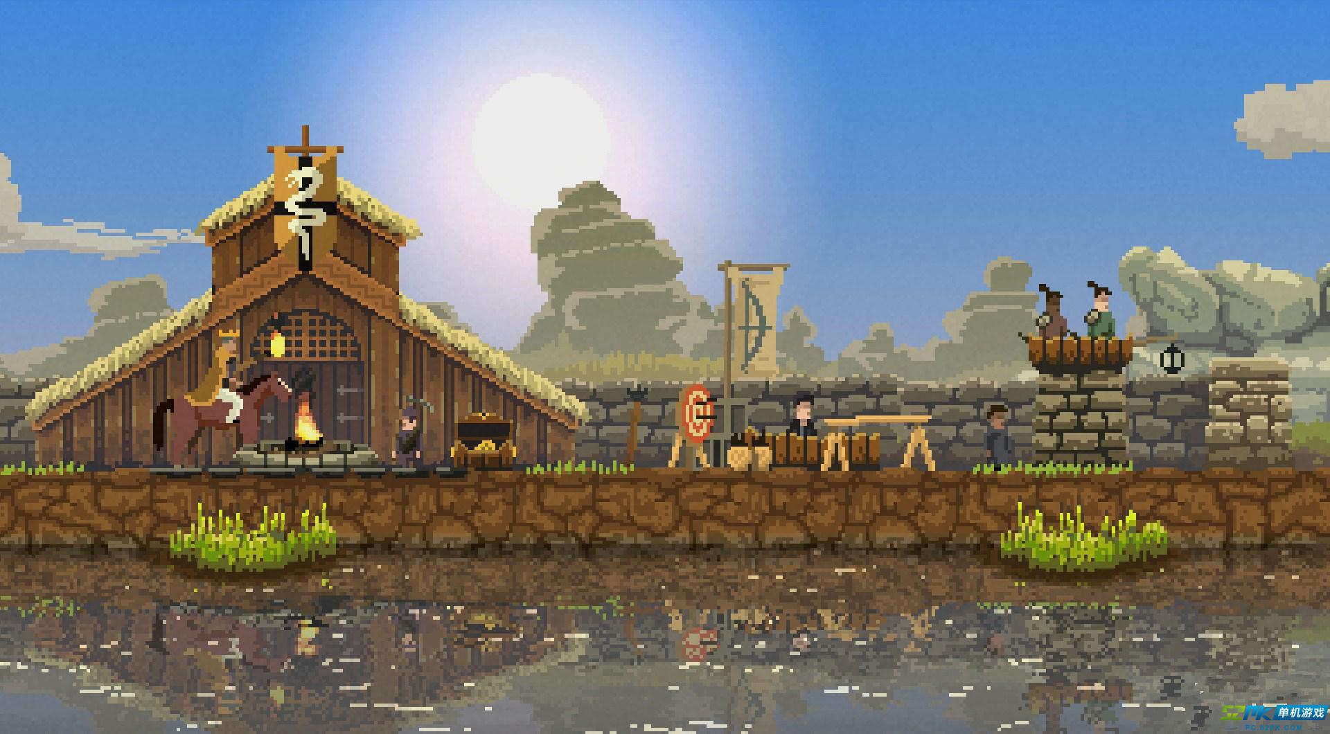 像素风模拟经营游戏王国将登陆微软XBOXONE平台
