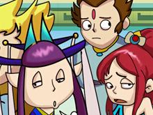 神武2搞笑原创四格漫画 同学们开学啦