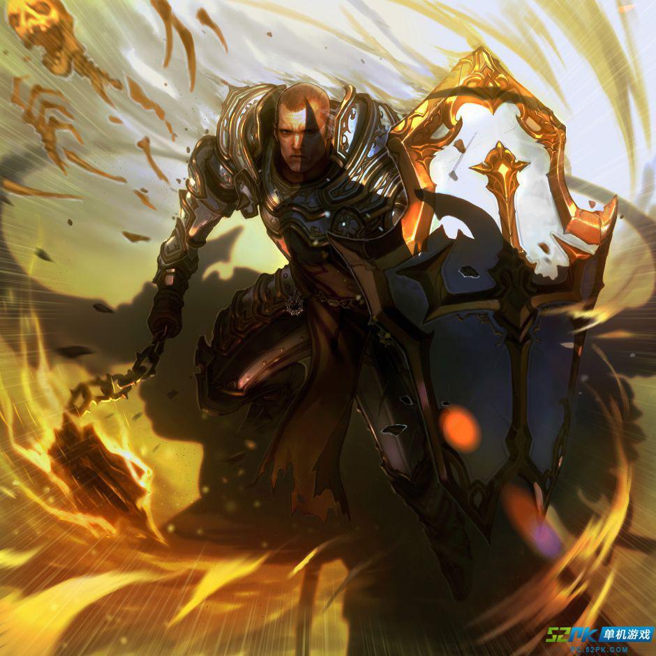 暗黑破坏神3国外玩家主题绘画作品欣赏
