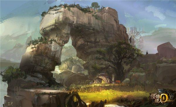 怪物猎人原画欣赏 可以做壁纸的精细美图