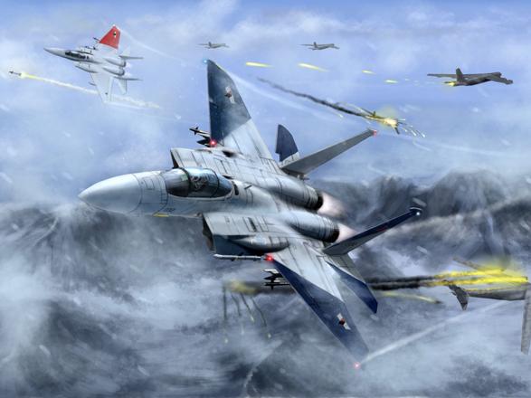 万代南梦宫公布《皇牌空战7》新VR实况 空中决战!