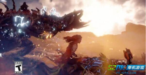 地平线零之黎明新视频 展示角色的各种技能和能力