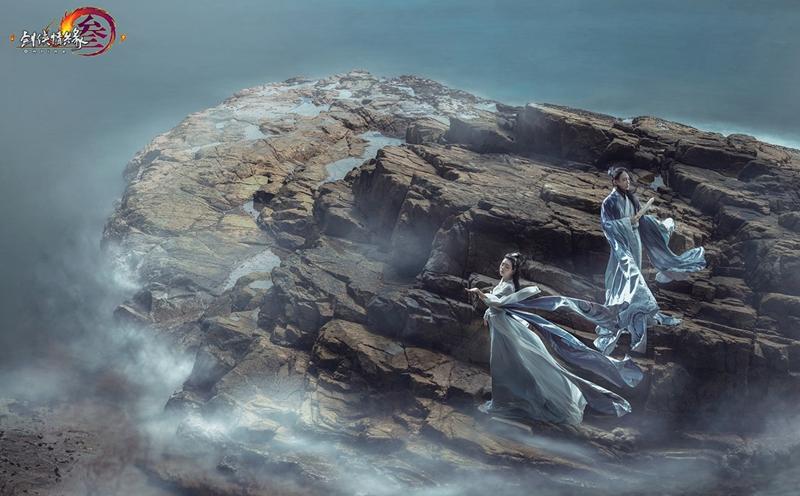 105天精工刺绣 《剑网3》推真人版国风高定礼服