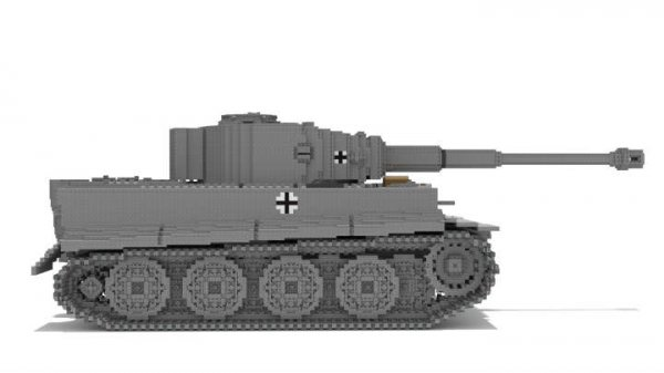玩家还原二战无敌坦克 德国虎式重型坦克