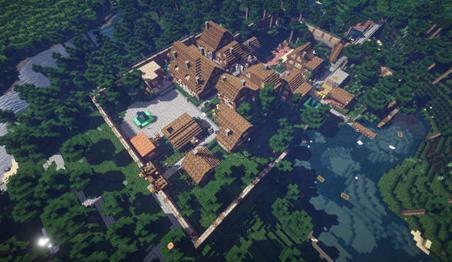 场景还原 暗黑破坏神3中的Tristram村庄