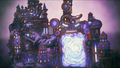 通向瓦尔哈拉之门 我的世界魔幻建筑欣赏