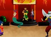 LOL动画安妮与瑞雯之战