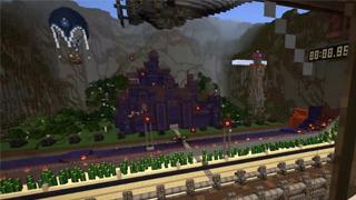 我的世界小枫城堡防守战小游戏新体验