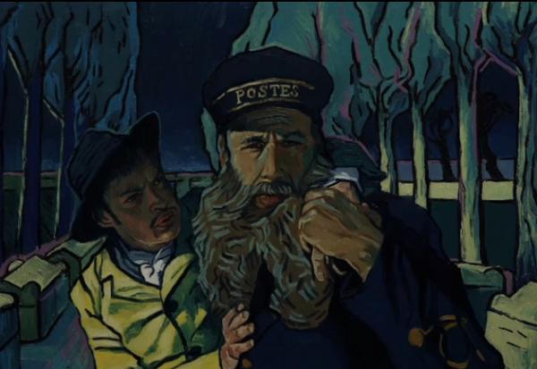 动画电影《至爱梵高》正式预告 全油画画面制作