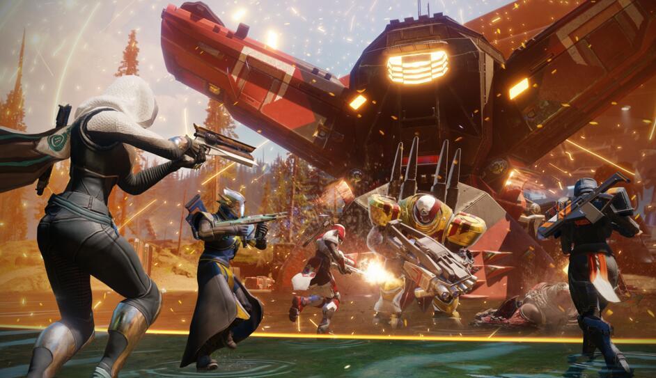 《命运2》海量精美截图公布 游戏10月登陆暴雪战网