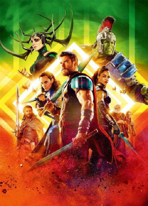 《雷神3:诸神黄昏》公布全角色海报 索尔手持双剑亮相