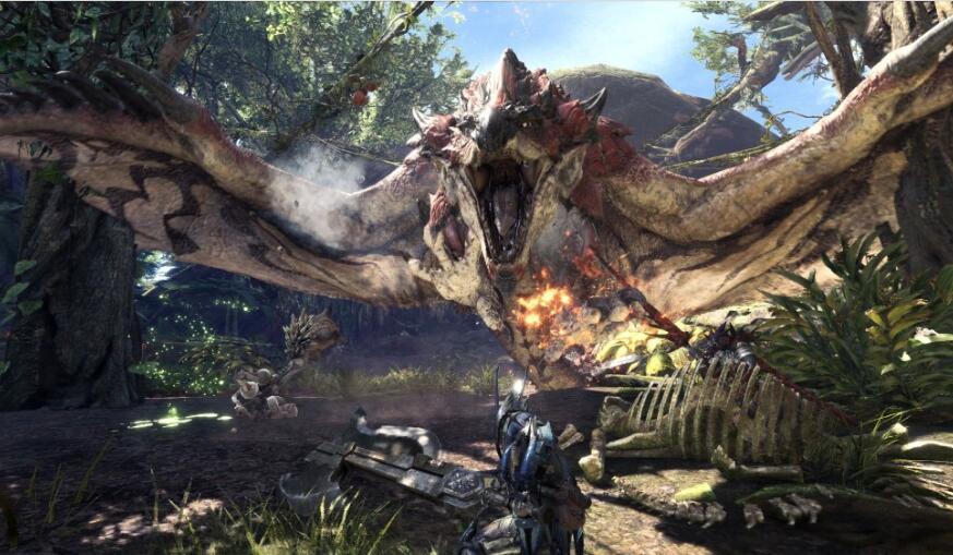 怪物猎人世界最新详细情报 介绍游戏场景魔物与14种武器