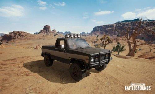 绝地求生新载具上线 沙漠地图特有皮卡车